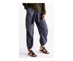 Elegantly Designed Travel Trousers Womens By Paskho