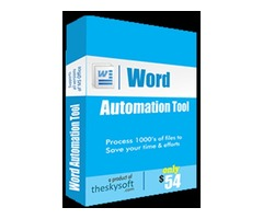 Word Automation Tool