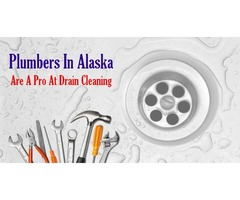 Plumbers in Alaska are a Pro at Drain Cleaning