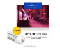 Light Up your Interior with T8 8ft 48W LED Tubes & Save on Energy Bills