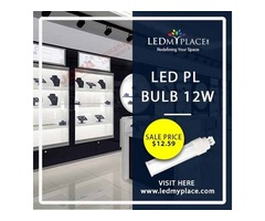 Save Energy and Money with Affordable & Energy Savings LED PL Bulbs
