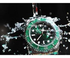N factory V7 116610 116610LN ETA 2836 watch black ceramic frame luminous calendar diving watch luxur