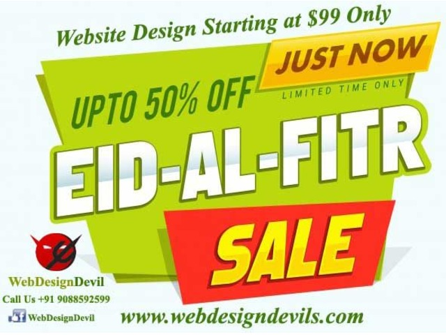 Eid Ul Fitr Celebrate Website Design Starting at USD99 Only | free-classifieds-usa.com