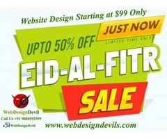 Eid Ul Fitr Celebrate Website Design Starting at USD99 Only