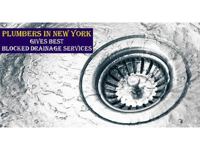 Plumbers in New York Gives Best Blocked Drainage Services | free-classifieds-usa.com