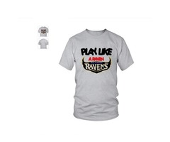 Play Like a Raven Batlimore T-Shirt Limited Edition