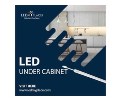 Install LED Under Cabinet Lights To Improve Your Home or Office Space