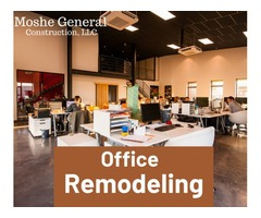 Office remodeling services