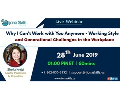 Why I Can't Work with You Anymore - Working Style and Generational Challenges in the Workplace | free-classifieds-usa.com