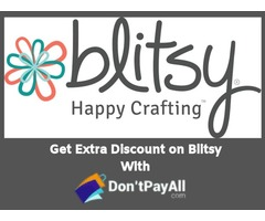 Creative people can save big with Blitsy coupon