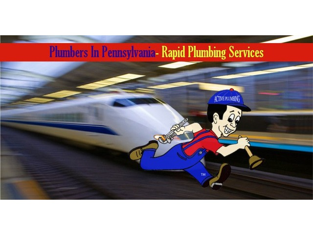Plumbers In Pennsylvania- Rapid Plumbing Services | free-classifieds-usa.com