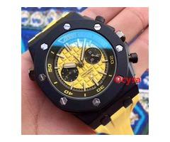 Rose Gold Quartz Stopwatch Designer Luxury Watch Top Brand All Subdials Work Reloj Aaa Luxury Mens W