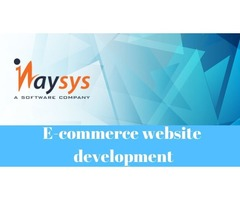 Inaysys is pleased to give your Ecommerce business an impressive online presence