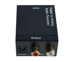 Shop Now! TV Digital Audio Converter from Serene Innovations