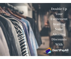 Savings Assured with Don'tPayAll Apparel Coupon & Promo Codes