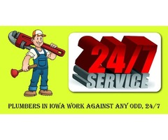 Plumbers In Iowa Work Against Any Odd, 24/7