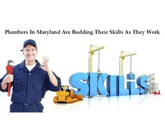 Plumbers In Maryland Are Budding Their Skills As They Work