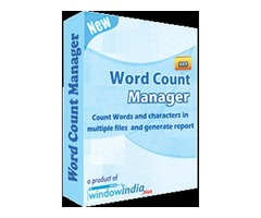 Word Count Manager