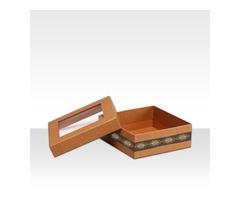 Get trendy Custom Two piece product box