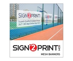 Purchase Mesh banner at lowest prices