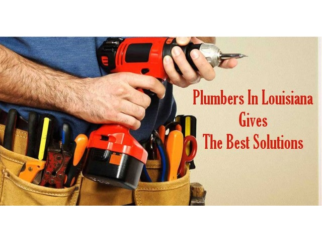 Plumbers in Louisiana Gives The Best Solutions | free-classifieds-usa.com