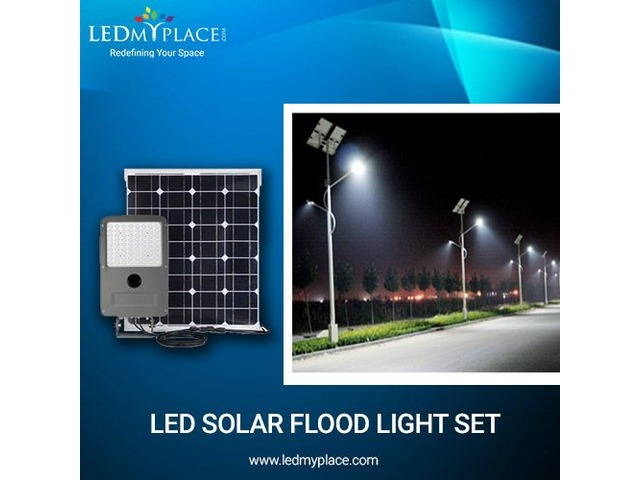 Use LED Solar Flood Lights Rather Than Normal Lights At The Outdoor Locations | free-classifieds-usa.com