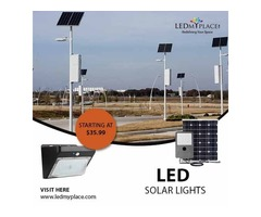 LED Solar Lights are the Solution for Your Reduce Energy Bill for Outdoor Lighting | free-classifieds-usa.com