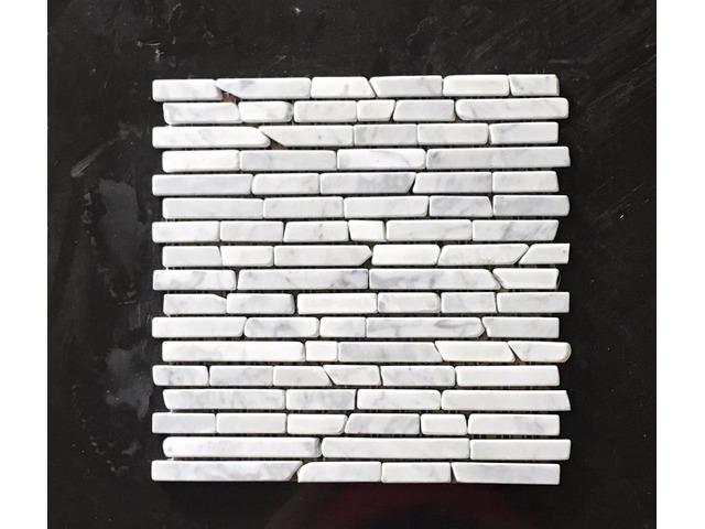 BIANCO CARRARA TUMBLED BRICK PATTERN | free-classifieds-usa.com