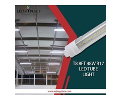 Install Now the Best T8 8ft 48W R17 LED Tube Light and Save on Energy Bills