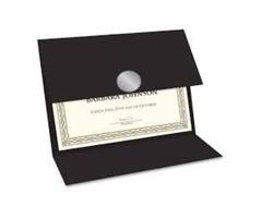 Acquire Certificate Covers, Certificate Holders, Certificate Folders