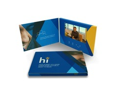 Video Brochures Manufacturer In The USA