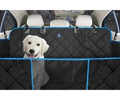 Best Dog Hammock Back Seat Cover Padded With 600D Fabric