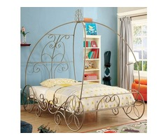 Princess Carriage Youth Novelty Bedroom Set | Get.Furniture