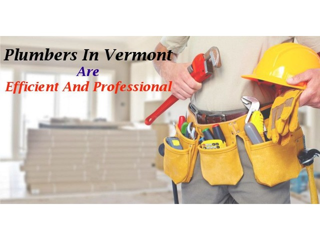 Plumbers in Vermont are Efficient and Professional | free-classifieds-usa.com