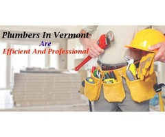 Plumbers in Vermont are Efficient and Professional