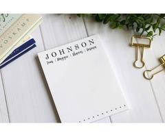 Get the Best Custom Writing Pads, Custom Notepads