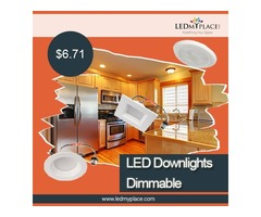 Easy To Get More Discount On 5/6 inch Dimmable LED Disk Downlights