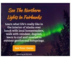 Luxury northern lights