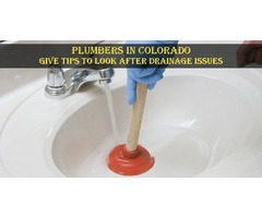 Plumbers In Colorado Give Tips To Look after Drainage issues | free-classifieds-usa.com