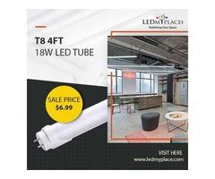 Install Now T8 4ft 18W LED Tube Lights for Better Energy Savings