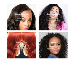hair extensions, bundles, wigs, lace frontal closure