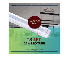 Illuminate your Interior with Best T8 4ft 22W LED Tube Lights