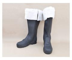 Leather Santa Shoes