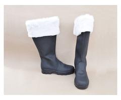 Leather Santa Shoes   free-classifieds-usa.com
