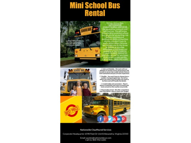 School Bus Rentals | free-classifieds-usa.com
