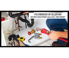 Plumbers In Illinois Giving Solutions All Day And Night
