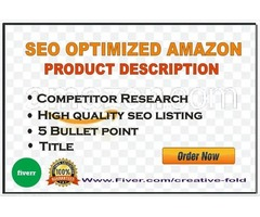 I Will Write A Stunning Amazon Listing SEO Product Description