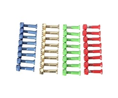 8 pcs Skateboard Truck Bolts Nuts Skateboard Accessories