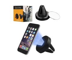 Magnetic cell phone holder mini vechile car air vent mount holders GPS stand universal for mobile ph