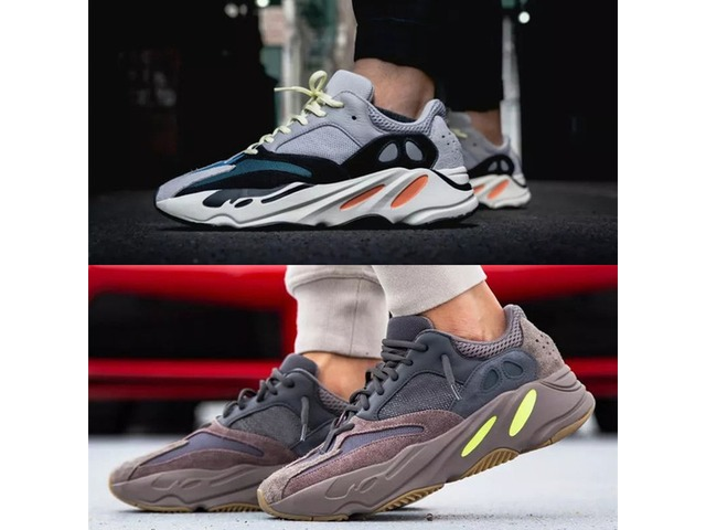 sports shoes e417a 62ce1 2019WithBox700WaveRunnerMauveEE9614B75571RunningShoesMenWomenB75571StitchingColorTop